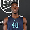 ST. LOUIS, MO. JUNE 9, 2016 - Elite 100 Skills Academy. Emmitt Williams #40 of IMG Academy 6'6/209 with a 6'11 wingspan (Photo by Jon Lopez)